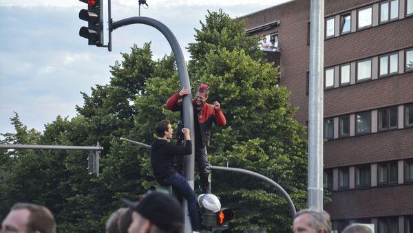 Protesty v Hamburku - Sputnik Česká republika