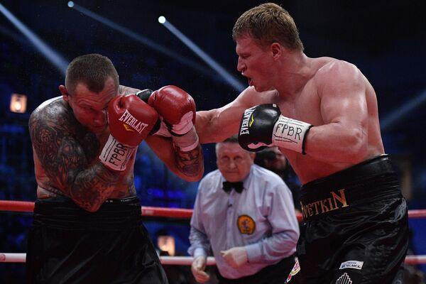 Boj Povětkina a Rudenka o tituly WBO International a WBA International - Sputnik Česká republika
