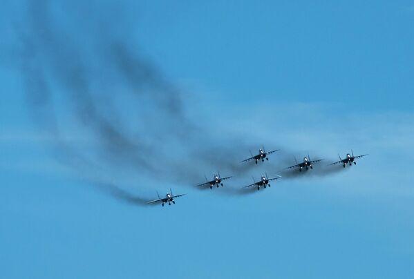 Hlavní události věnované 105. výročí vojenského letectva Ruska proběhnout 12. srpna - Sputnik Česká republika