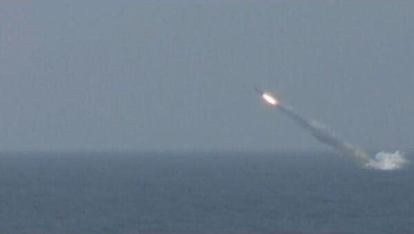 Na Kamčatce odpálila jaderná ponorka Tomsk okřídlenou raketu. Video - Sputnik Česká republika