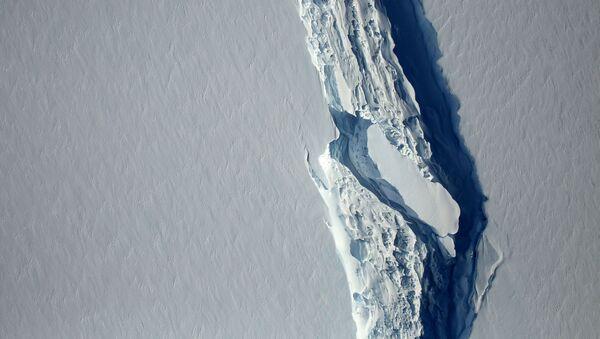 Ledovec Larsen C - Sputnik Česká republika