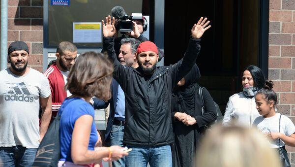 Migranti v Berlíně (ilustrační foto) - Sputnik Česká republika