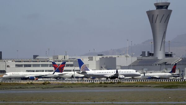 Letadla na letišti v San Francisku - Sputnik Česká republika