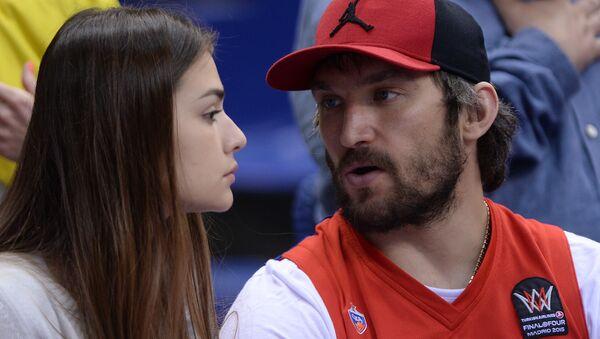 Alexandr Ovečkin a Anastasia Šubská - Sputnik Česká republika
