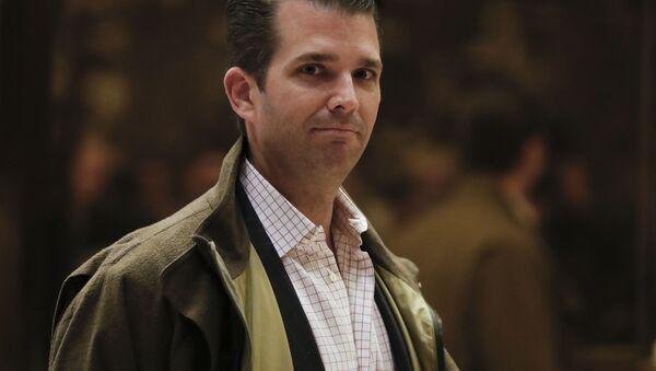 Syn prezidenta USA Donalda Trumpa - Sputnik Česká republika