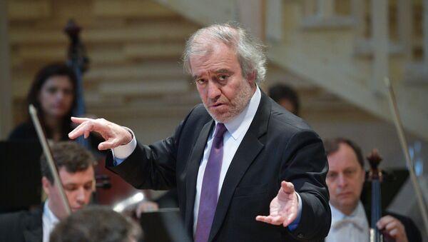 Dirigent Valerij Gergijev - Sputnik Česká republika