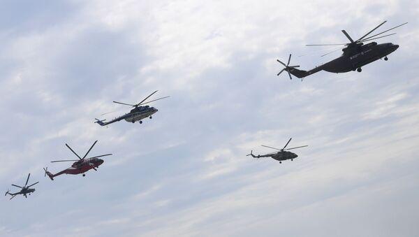 Vrtulníky - Sputnik Česká republika