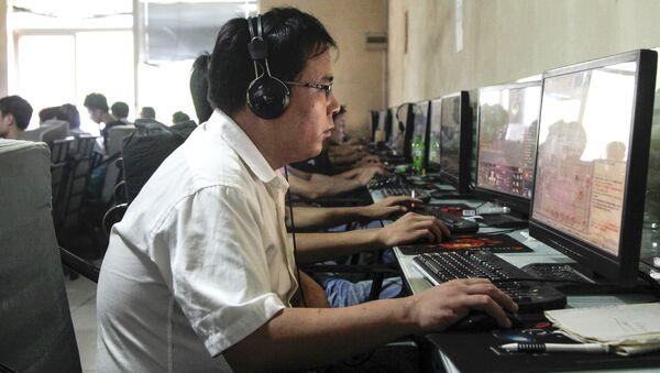 Internetová kavárna v Číně - Sputnik Česká republika