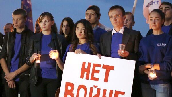 Mladí lidé ve Volgogradu - Sputnik Česká republika