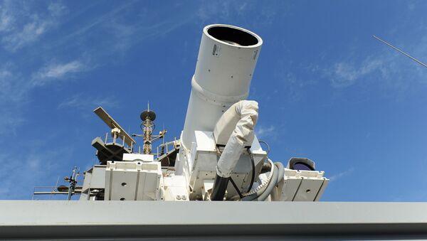 Laser umístěný na palubě americké lodě Ponce - Sputnik Česká republika