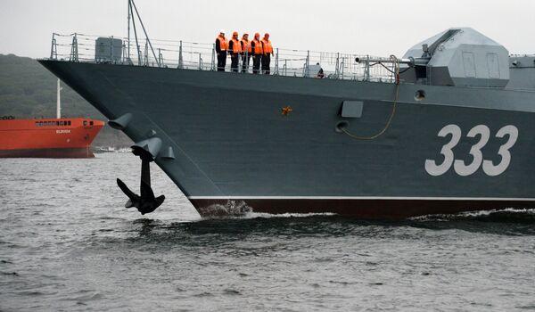 Korveta Sověršennyj: velký zisk Tichooceánské flotily - Sputnik Česká republika
