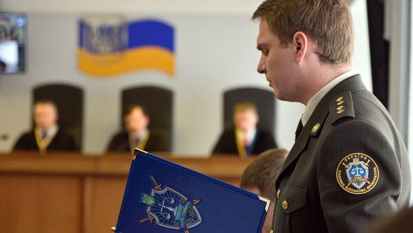 Prokurátor a vyšetřovatel ukrajinské Hlavní vojenské prokuratury Ruslan Kravčenko - Sputnik Česká republika