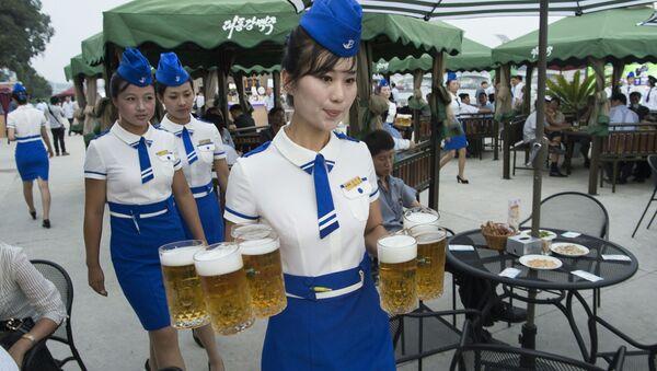 Pivní festival Taedonggang - Sputnik Česká republika