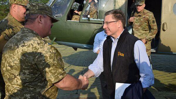 Speciální zmocněnec USA pro Ukrajinu Kurt Volker - Sputnik Česká republika