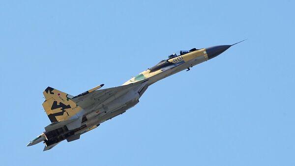 Víceúčelová stíhačka Su-35 - Sputnik Česká republika