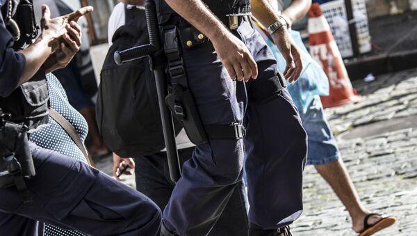 Brazilský policista - Sputnik Česká republika