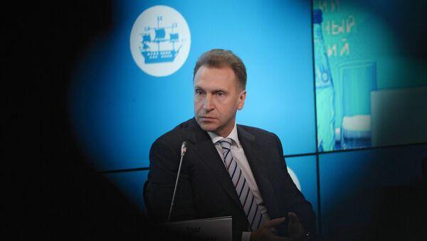 Igor Šuvalov - Sputnik Česká republika