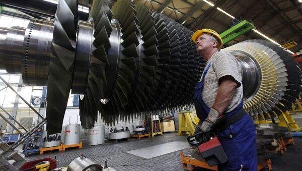 Závod Siemens v Německu - Sputnik Česká republika