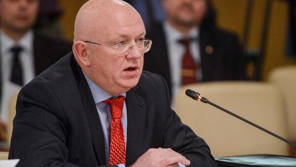 Nový stálý zástupce Ruska při OSN Vasilij Nebenzja - Sputnik Česká republika