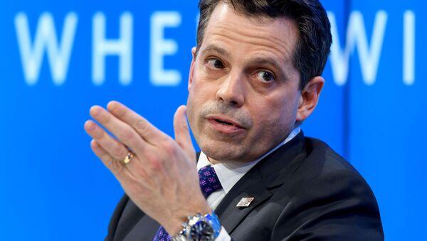 Ředitel pro komunikaci Bílého domu Anthony Scaramucci - Sputnik Česká republika