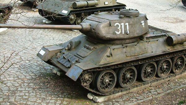 Sovětský tank Т-34-85 - Sputnik Česká republika