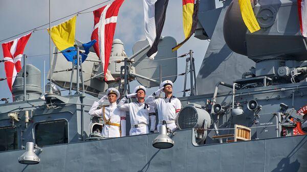 Ruští námořníci v Sevastopolu - Sputnik Česká republika