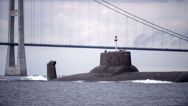 Atomová ponorka Dmitrij Donskoj - Sputnik Česká republika