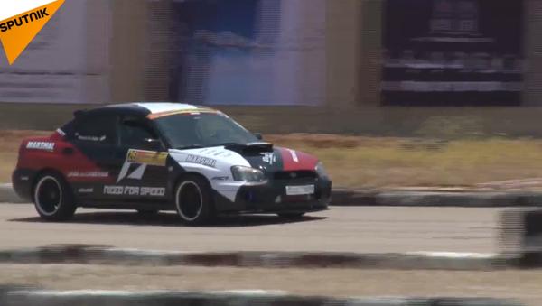 Automobiloví závodníci soutěžili v Rallye Sýrie poprvé po dlouhé přestávce - Sputnik Česká republika