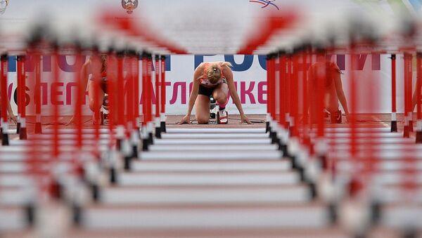 Soutěž v lehké atletice. Ilustrační foto - Sputnik Česká republika