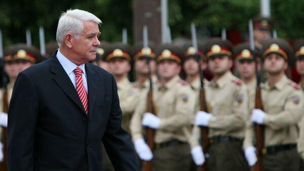 Ministr zahraničních věcí Rumunska Teodor Meleşcanu - Sputnik Česká republika
