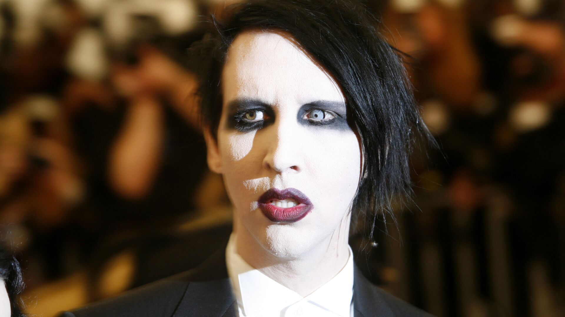 Rokový muzikant Marilyn Manson  - Sputnik Česká republika, 1920, 01.05.2021