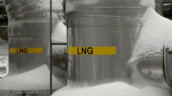 Zkapalněný plyn z USA - Sputnik Česká republika