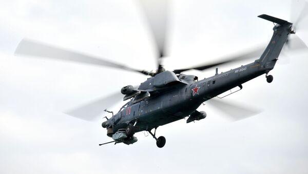 Vrtulník Mi-28 - Sputnik Česká republika