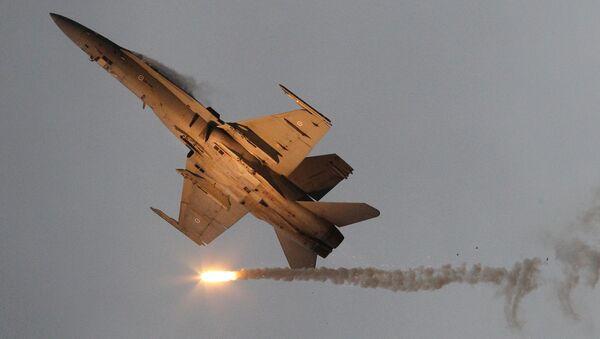 Stíhací letoun F/A-18 - Sputnik Česká republika