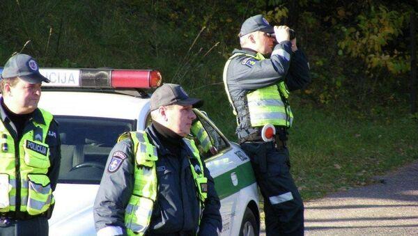 Litevští policisté - Sputnik Česká republika