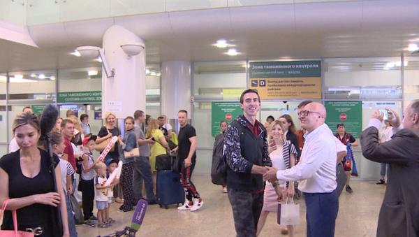 Sergeje Šubenkova vítají v Moskvě jako hrdinu - Sputnik Česká republika