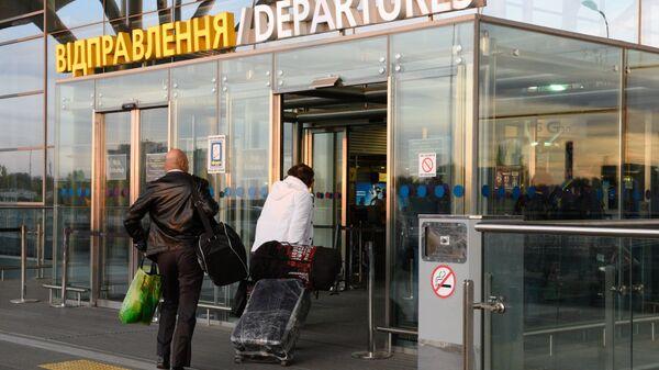 Ukrajinské letiště Borispol - Sputnik Česká republika