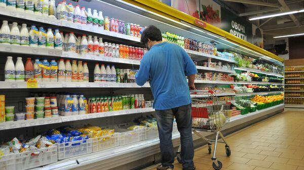 Obchod s potravinami. Ilustrační foto - Sputnik Česká republika