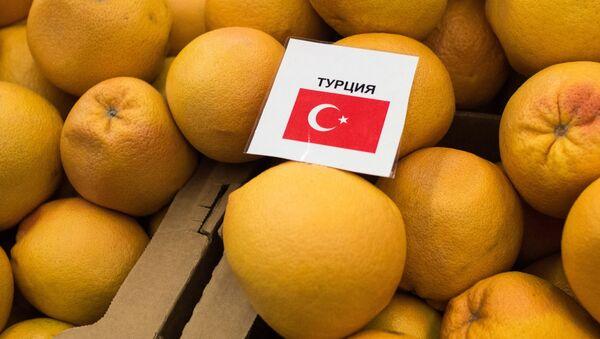 Turecké mandaríny - Sputnik Česká republika