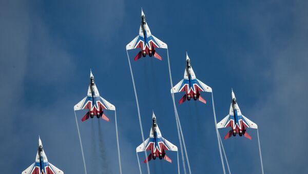 Akrobatická letecká skupina Striži - Sputnik Česká republika