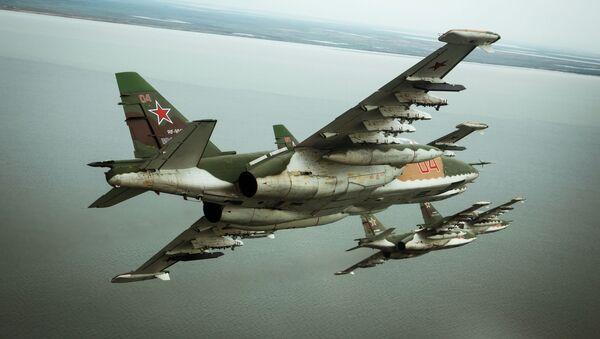 Ruský letoun Su-25SM3 - Sputnik Česká republika