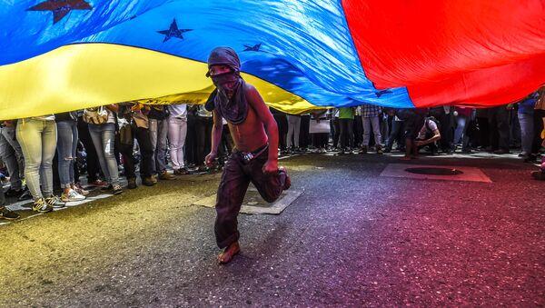 Protesty ve Venezuele - Sputnik Česká republika