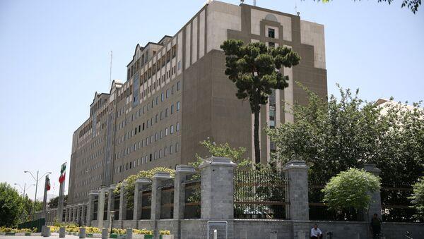 Budova iránského parlamentu v Teheránu - Sputnik Česká republika