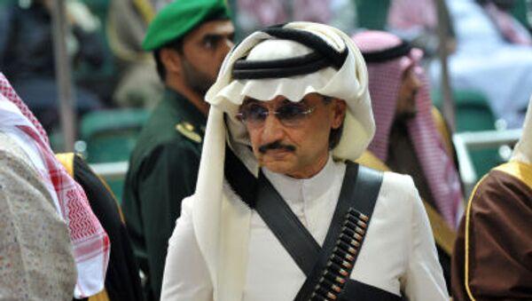 Saúdský princ Al-Valíd bin Talál - Sputnik Česká republika