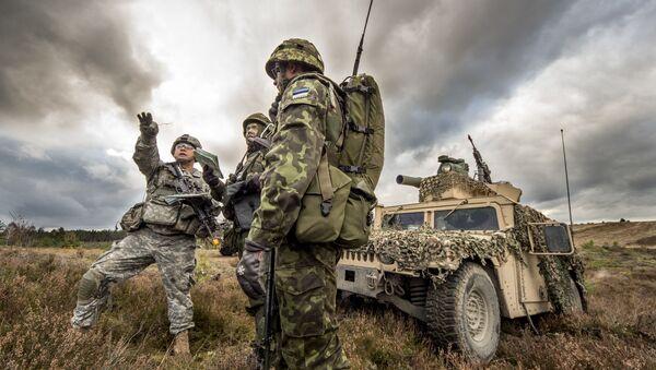 Společná cvičení vojáků USA a Estonska v Polsku. Archivní foto - Sputnik Česká republika