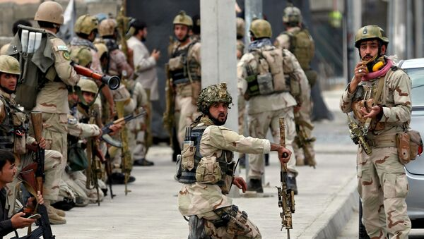 Afghánské sily bezpečnosti v Kábulu. - Sputnik Česká republika