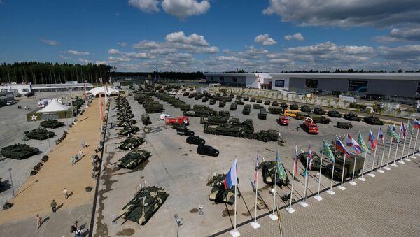 Mezinárodní vojensko-technický fórum Armija 2017 - Sputnik Česká republika