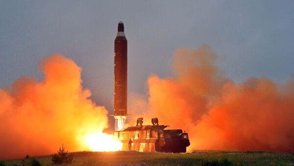 Odpálení rakety Hwasong-10 - Sputnik Česká republika