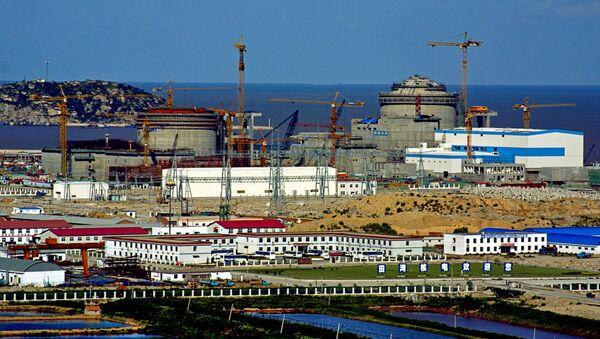 Stavba Tianwanské jaderné elektrárny - Sputnik Česká republika