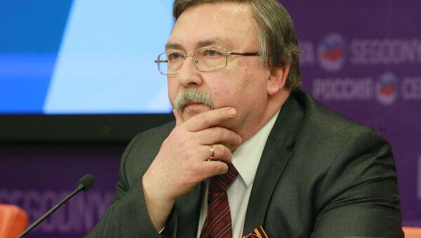 Zástupce Ruska při mezinárodních orgánech ve Vídni Michail Uljanov - Sputnik Česká republika